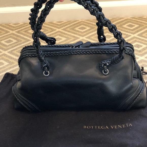 e1d0c1a6be7 Bottega Veneta Bags   Authentic Black Satchel   Poshmark